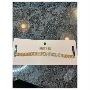 NWT! Miss guided Gold Chocker